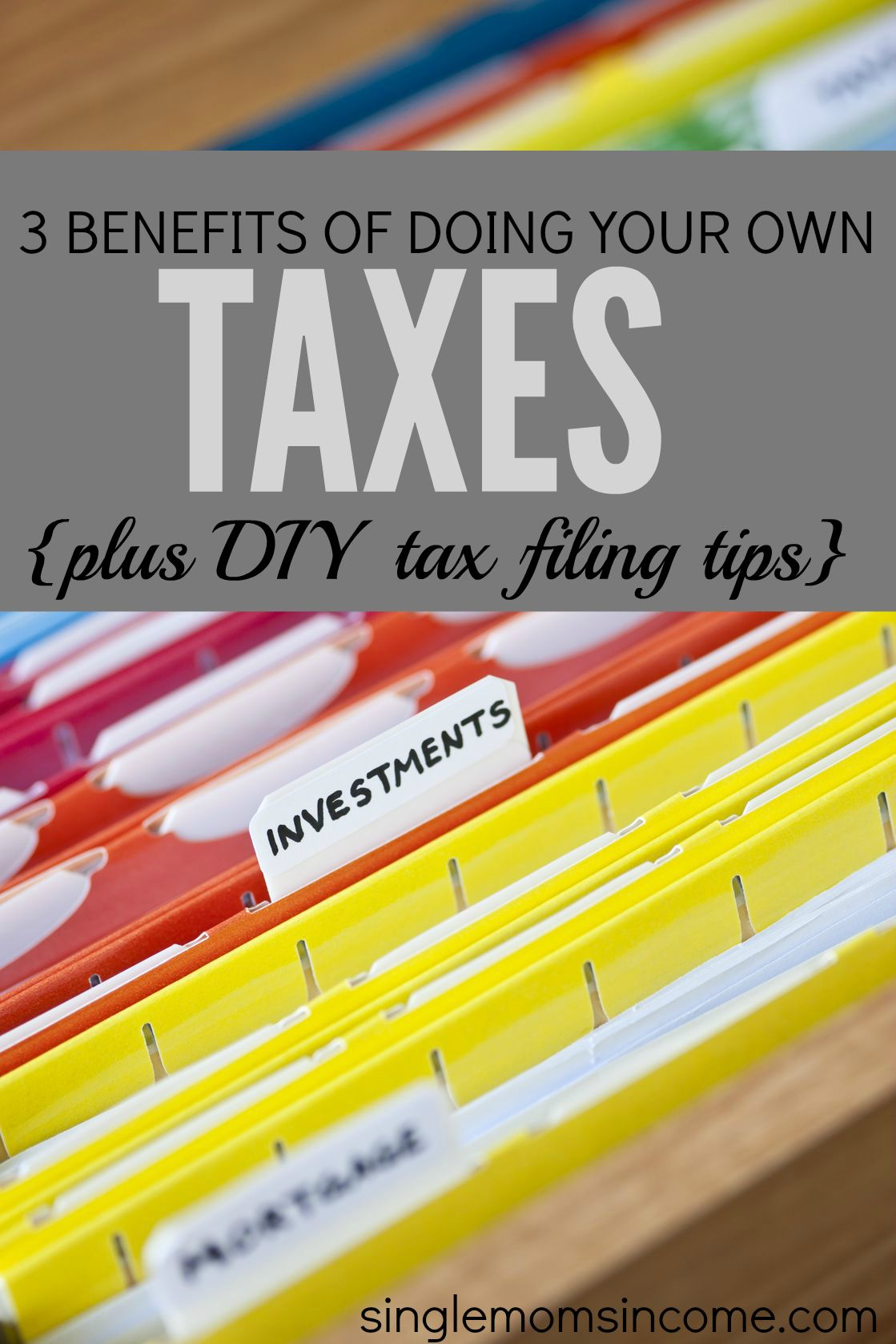 3 Reasons To Prepare Your Own Taxes Diy Tax Filing Tips Single Moms Income Diy Taxes Filing Taxes Business Tax