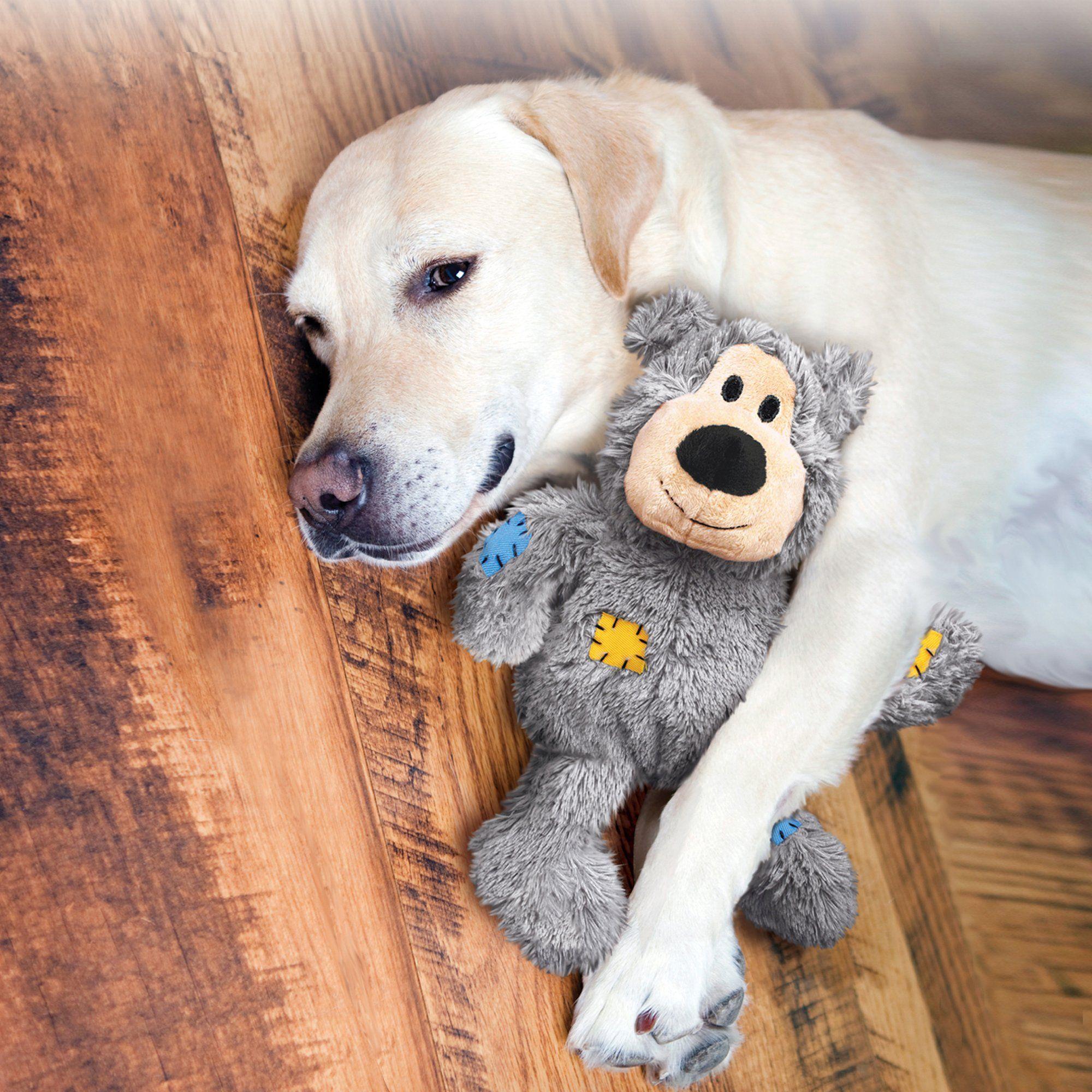 Kong Wild Knots Bear Dog Tug Toy Medium Assorted In 2020 Best