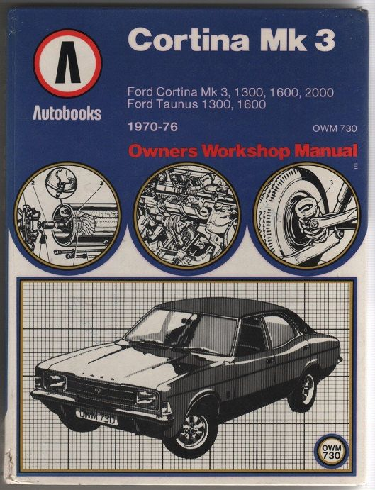 Vintage Car Owners Workshop Manual Ford By Dakotaboovintage 4 99