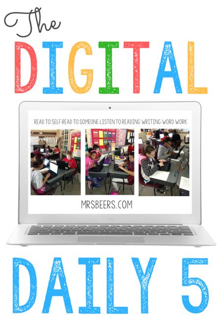 Digital Daily 5 Chromebook Activities   Spelling~Word Work~Grammar