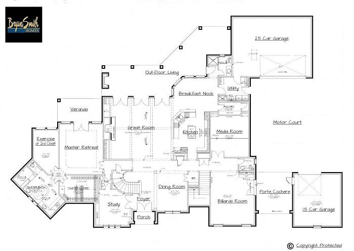 Country French Plan 5975 Country French Plans Million Dollar Homes How To Plan
