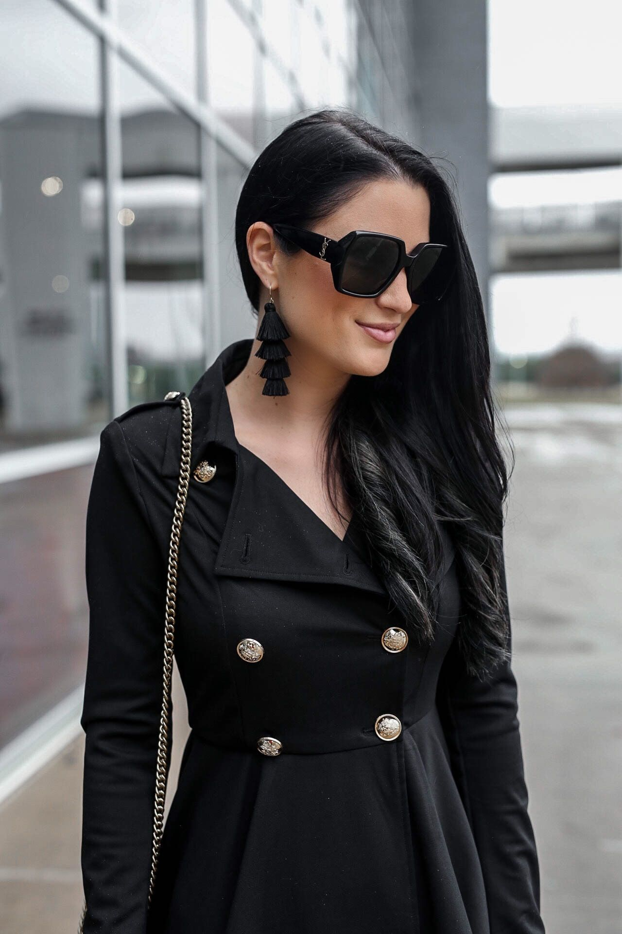 Tips On How To Wear A Black Trench Coat Dress Dressed To Kill Trench Coats Women Trench Coat Dress Trench Coat Black [ 1920 x 1280 Pixel ]