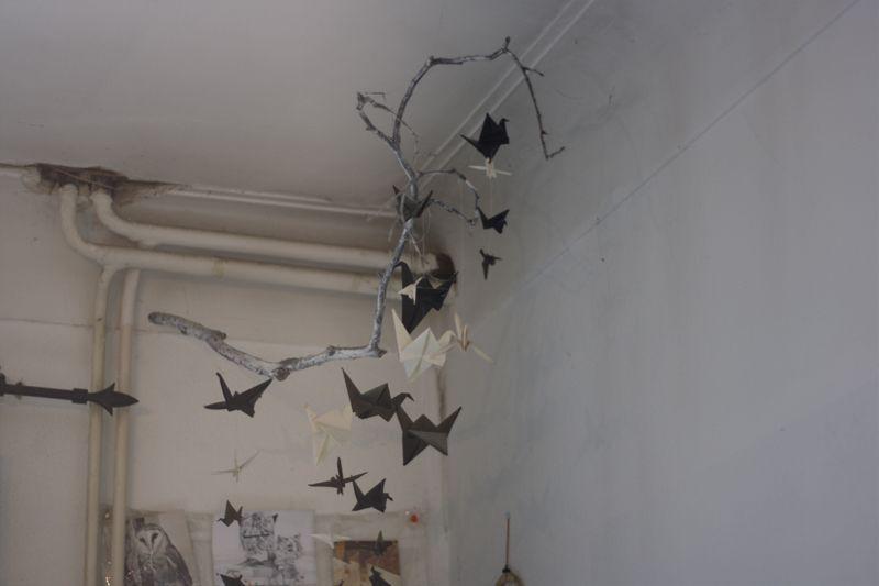 Interior, cranebirds