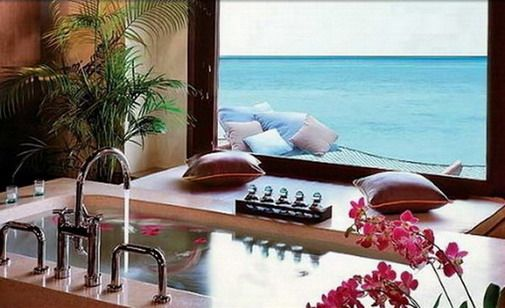 Awesome beach resort hotel Interior Design in the Maldives_2