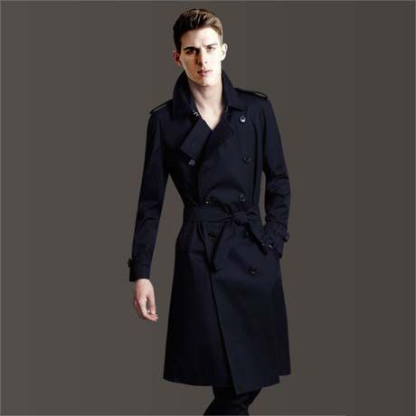 >> Click to Buy << 2017 Big yards men's  S-6XL spring and autumn fashion slim double breasted trench male long overcoat outerwear #Affiliate