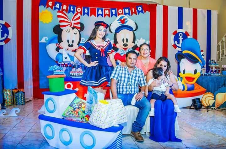 Pin De Cami Ayelen En Mickey Marinero Mickey Marinero Fiesta Náutica Cumple Mickey