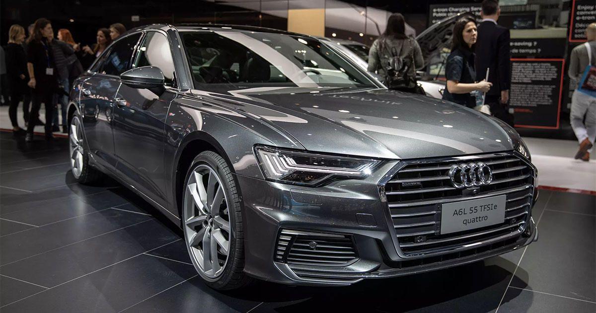 Audi Juices Up A6 A7 A8 Q5 Plug In Hybrids In Geneva In 2020 Audi A6 Audi Roadshow