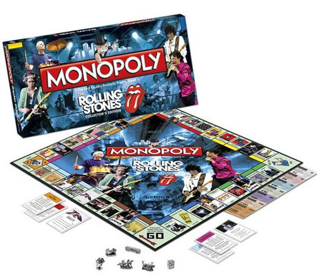 Monopoly The Rolling Stones Collector S Edition Multi Rolling Stones Monopoly Monopoly Game