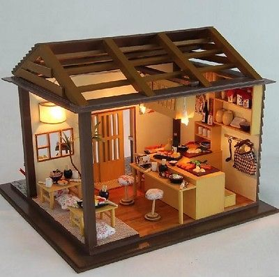 Japanese tea house model kit