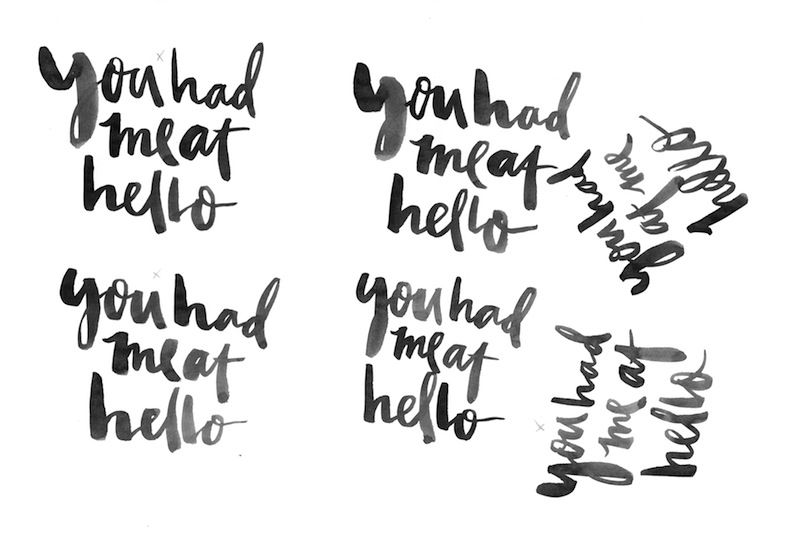 How To Digitize Brush Or Hand Lettering Hand Lettering