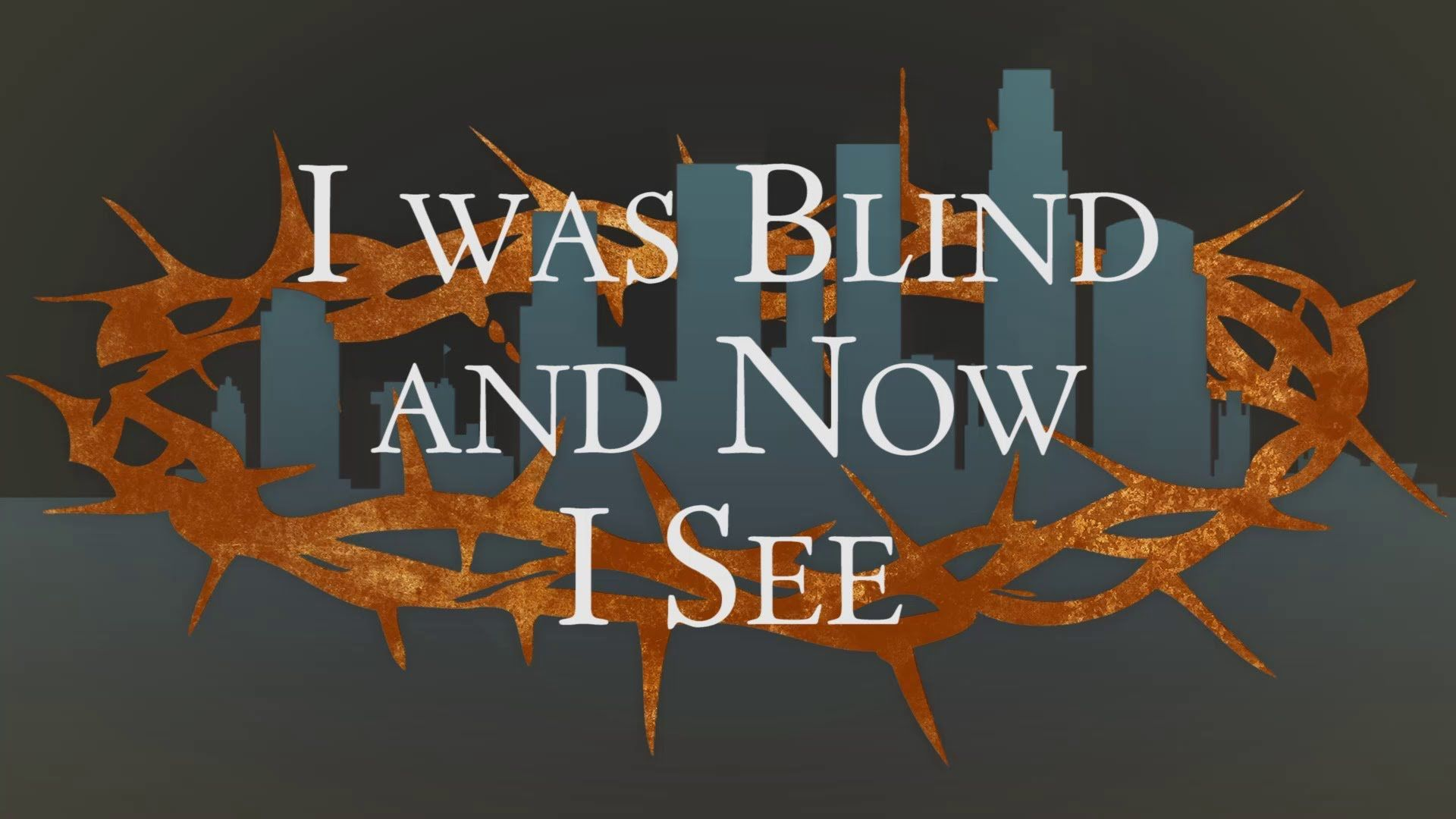 I was blind but now i see john 9141 calvary chapel