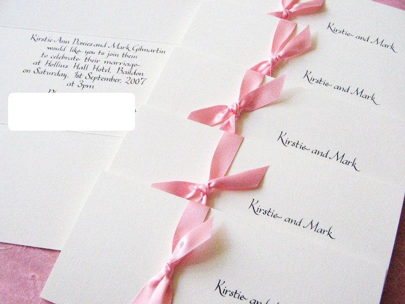 i really want a ribbon in my bridesmaid dress colors on my ...