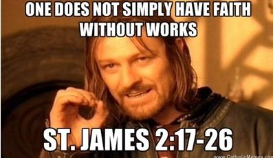 James 2:17 It's simply dead
