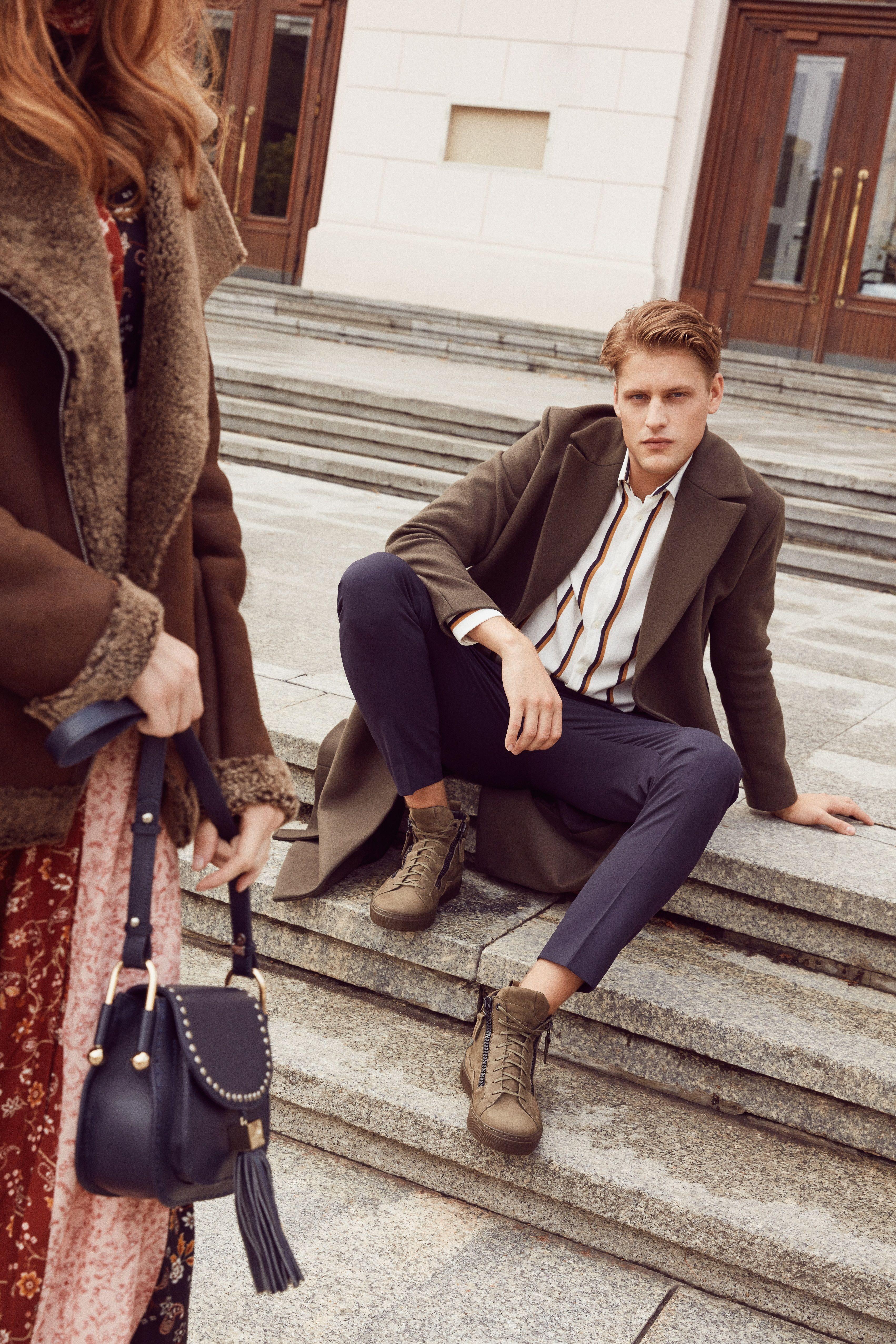 Zielone Trampki Meskie Leo Z Kolekcji Jesien Zima 2018 Fashion Style Lookbook