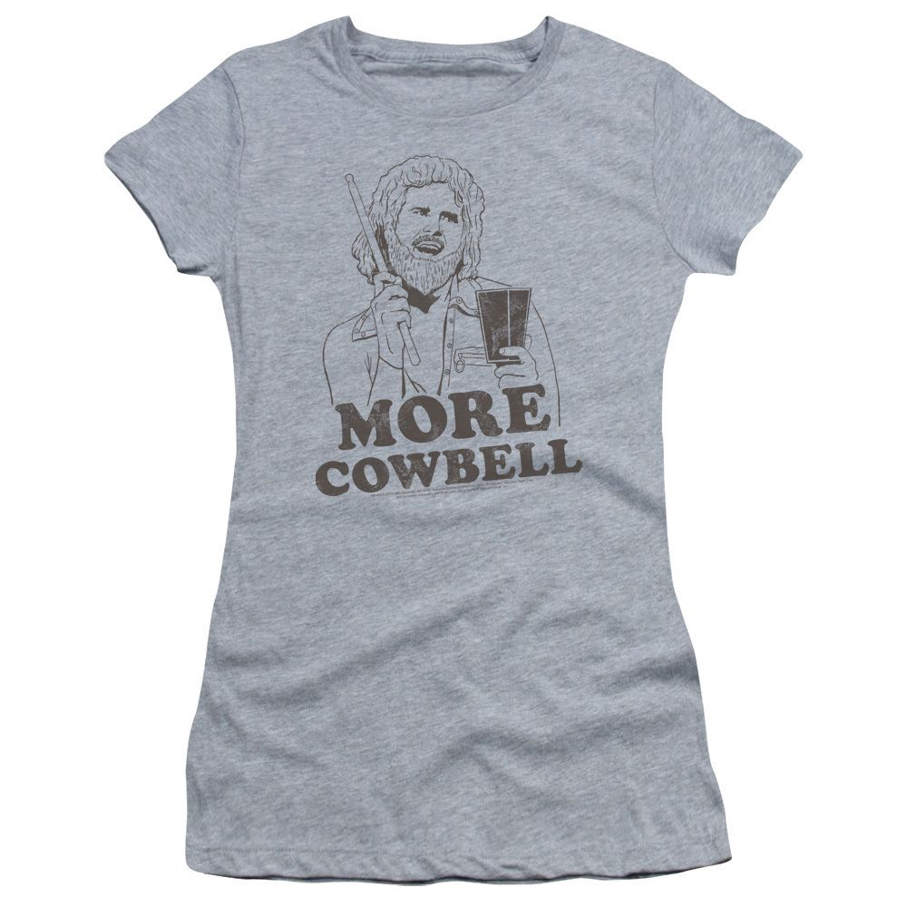 SNL/Illustrated Cowbell Junior Sheer in Athletic Heather Girl's