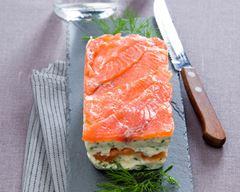 Recette Terrine de saumon du bajazzo #terrinedesaumon