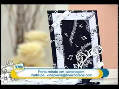 Artesanato - Porta-retrato