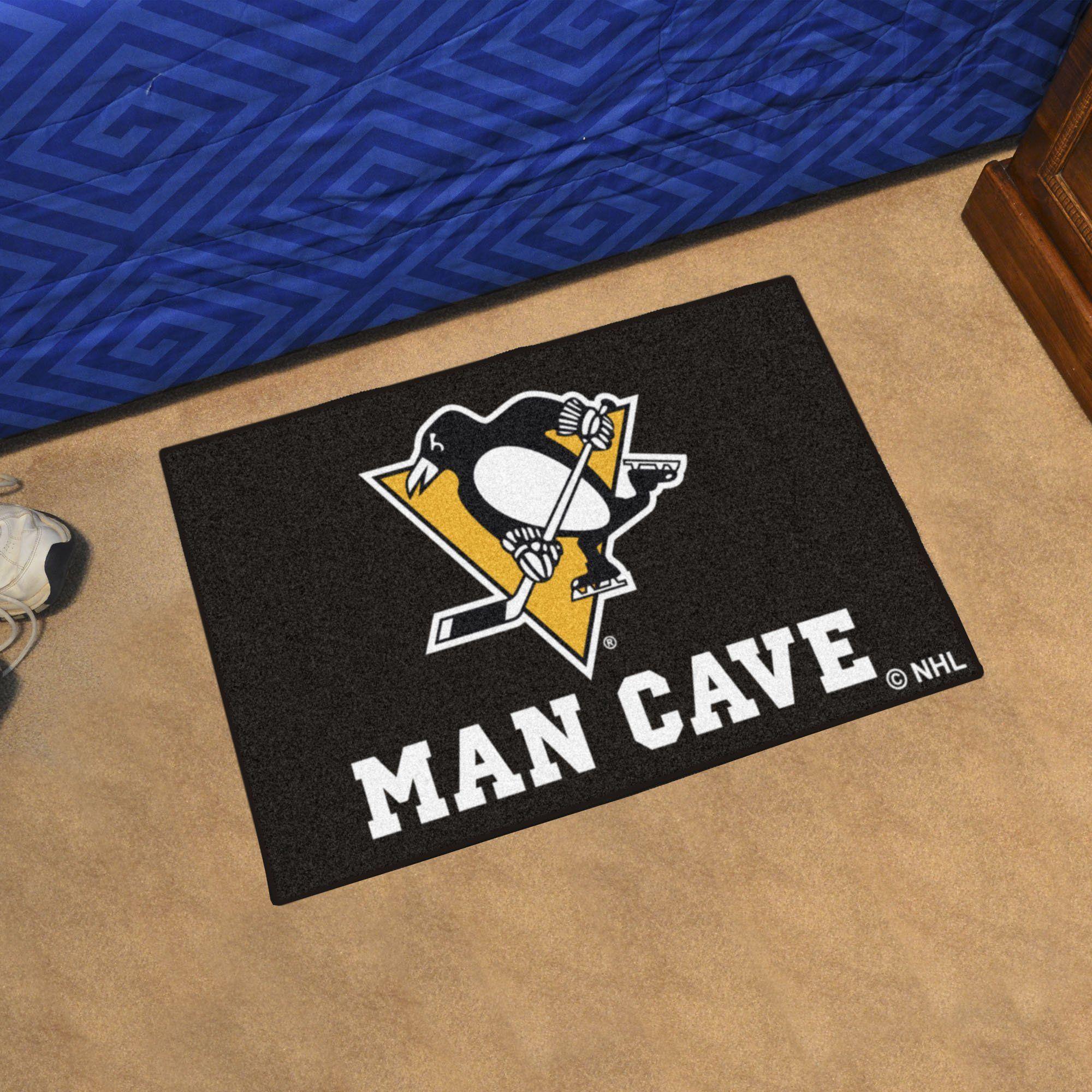 Fan Mats Arizona State University Hockey Puck Area Rug