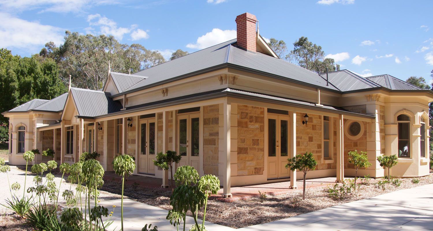 Traditional Federation Homes Australian House Plans Facade House Australian Country Houses