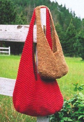 Kết quả hình ảnh cho Garter Stitch Knit Bag knitting