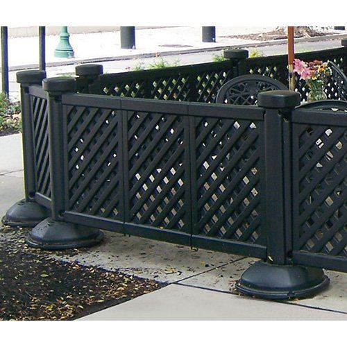 Grosfillex Portable Patio Fencing Post And Base