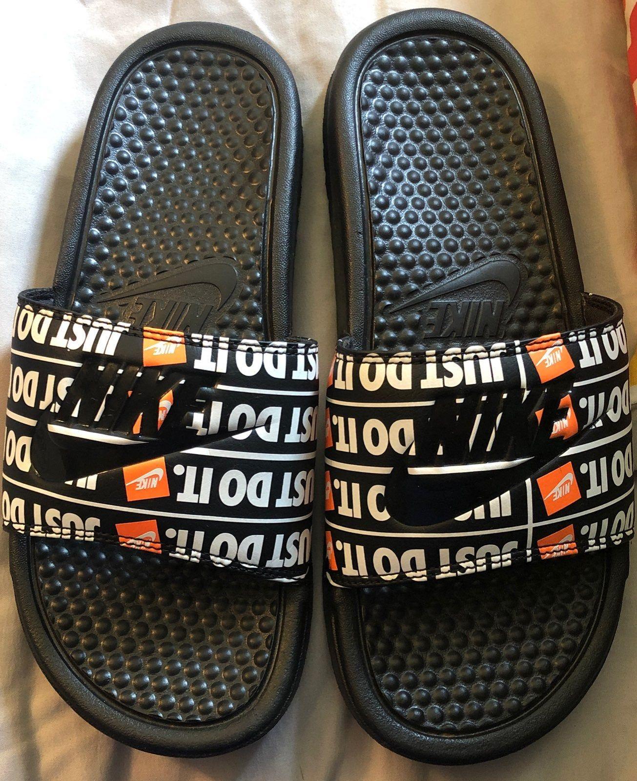 Hype shoes, Nike slides, Nike sandals