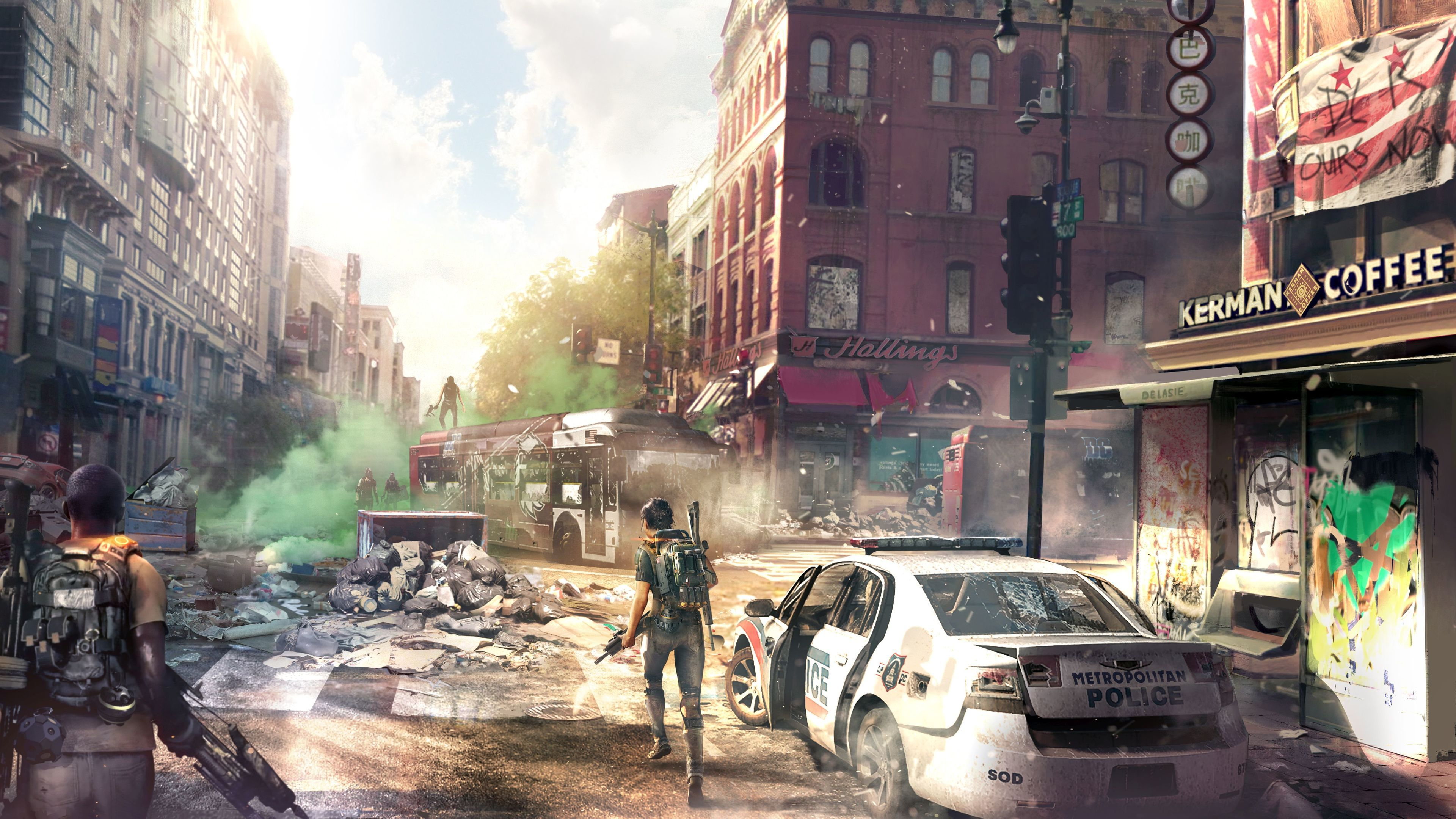 Tom Clancys The Division 2 Concept Art Downtown 4k Tom