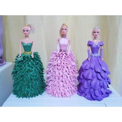 (1) Lembrancinha Para Aniversario Ou Decoraçao,boneca Barbie Eva - R$ 35,00 em Mercado Livre