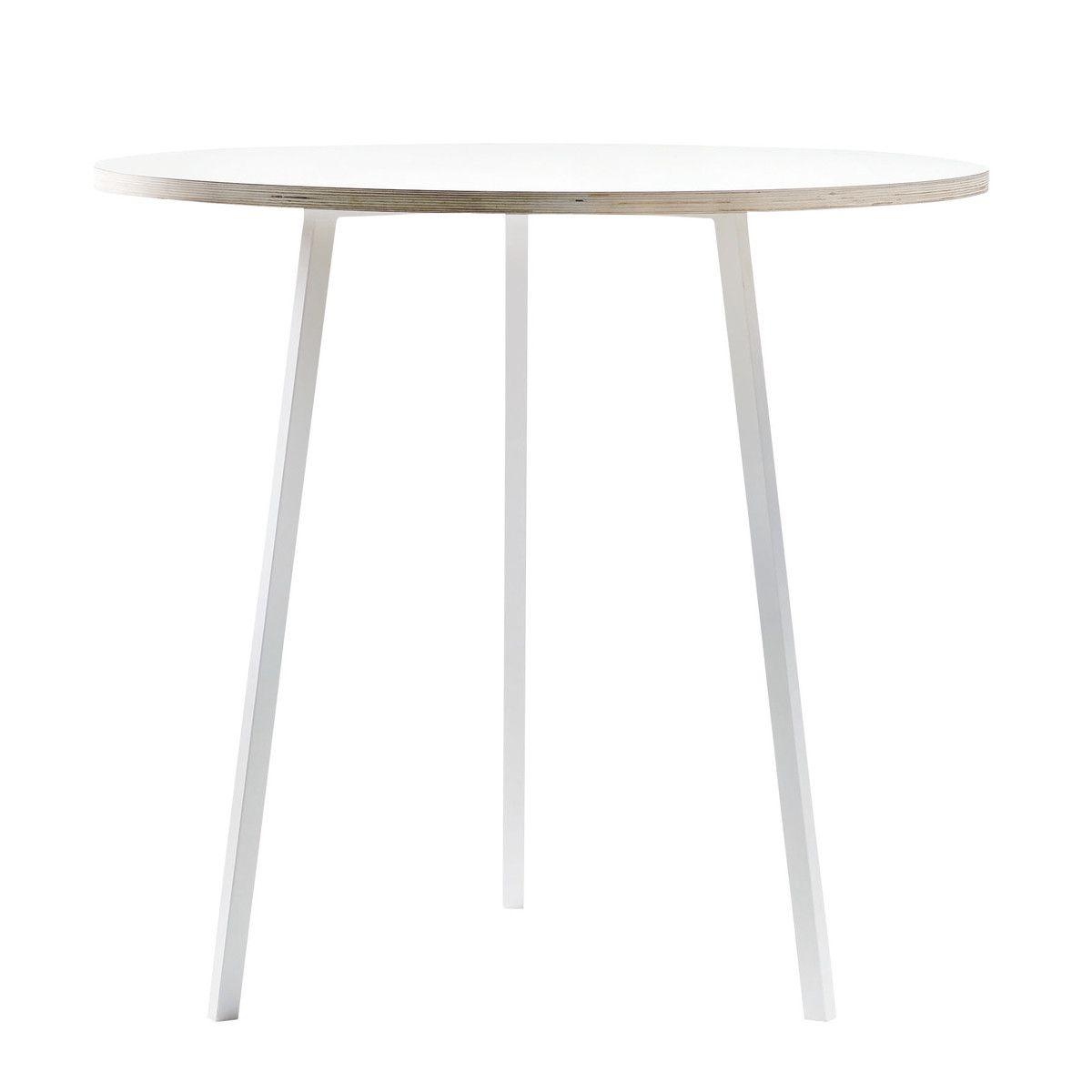 Hay   Loop Stand Round Bistrotisch, Weiß / Weiß Jetzt Bestellen Unter: ...