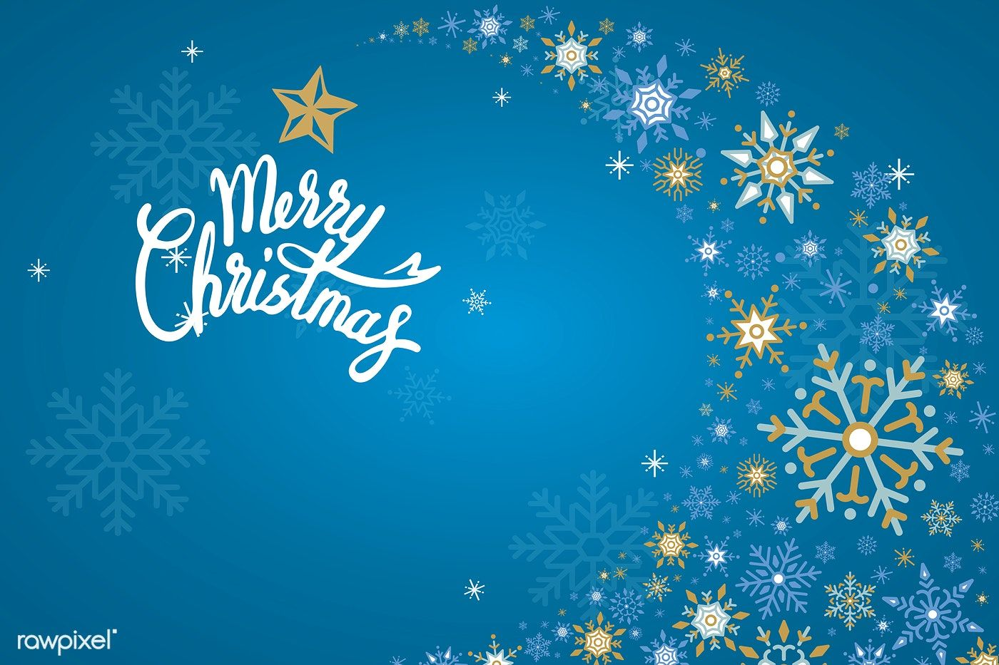 Merry Christmas Winter Holiday Background Vector Free Image By Rawpixel Com Holiday Background Winter Holidays Merry