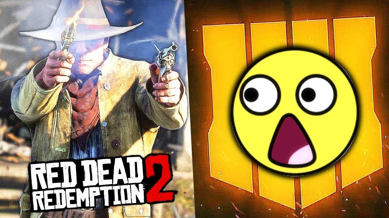 Is Black Ops 4 Scared Of Red Dead Redemption 2 Battlefield 5