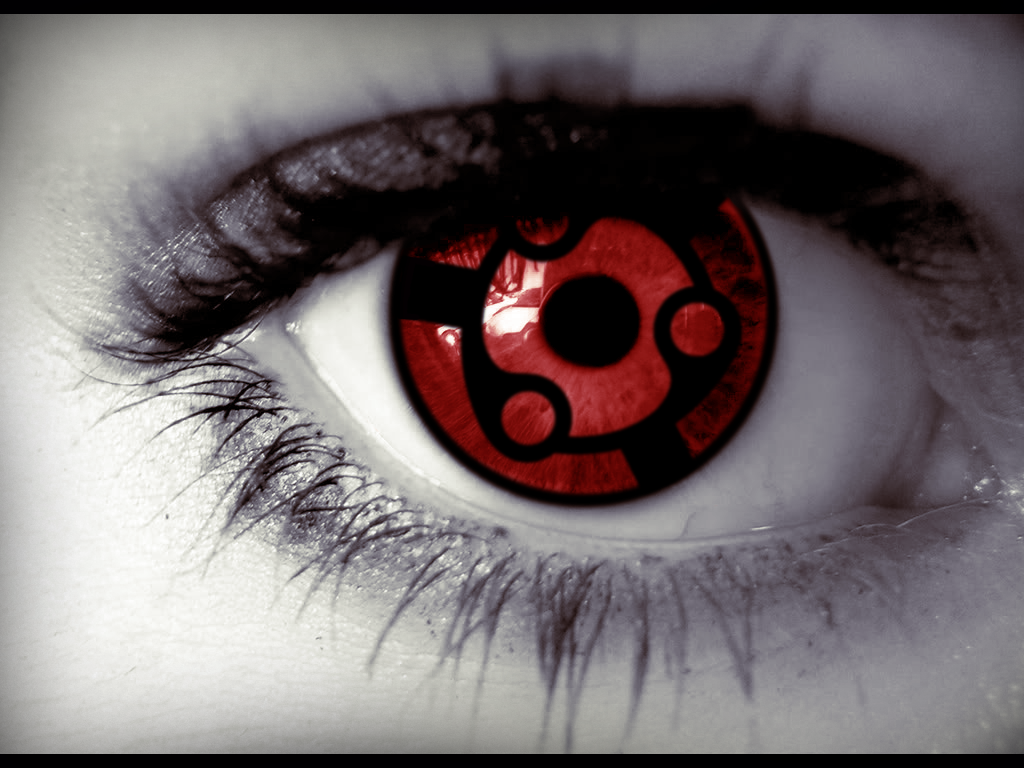 Nice Eye Bloodshot Eyes Uchiha Cosplay Anime
