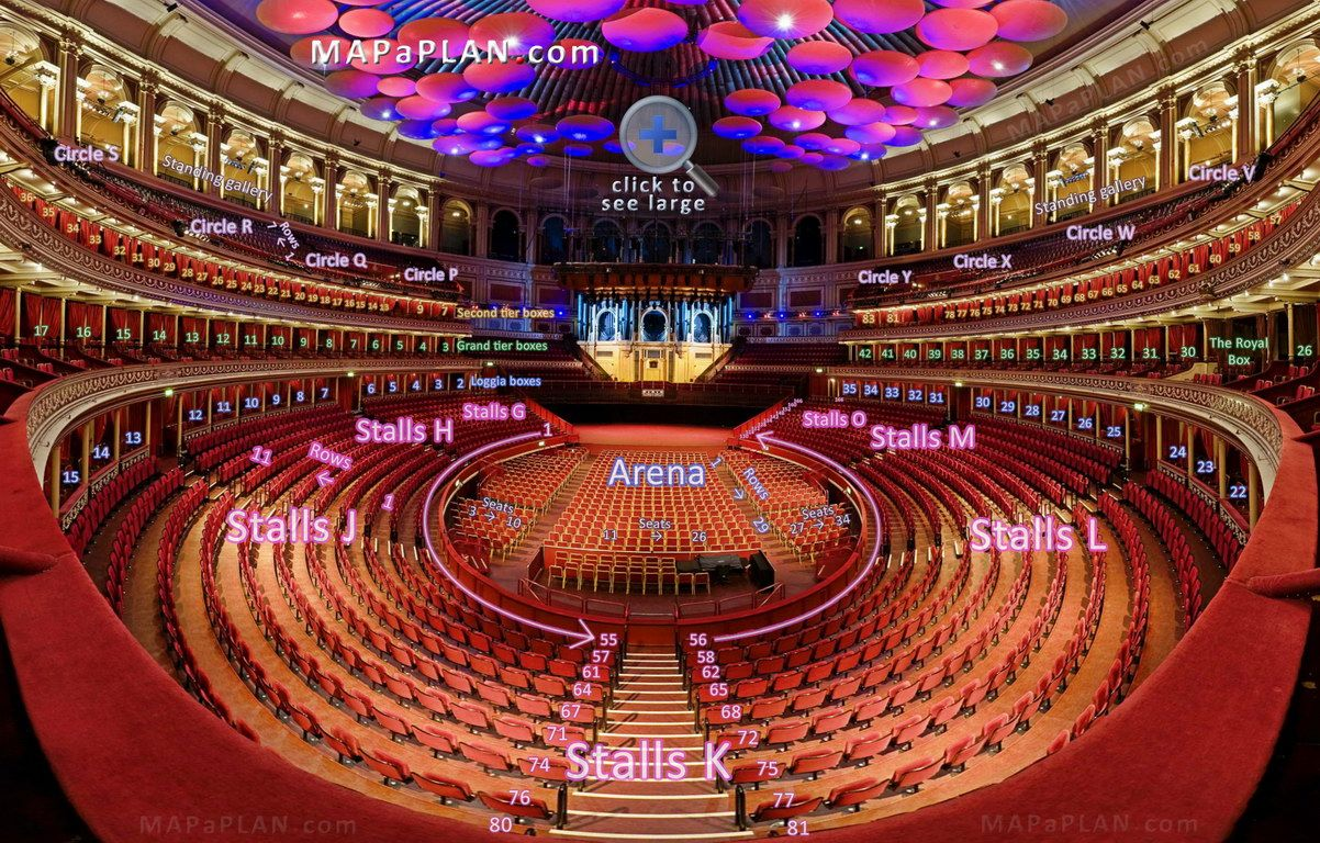 Interactive virtual tour 3d model 360 degrees panoramic for Door 4 royal albert hall