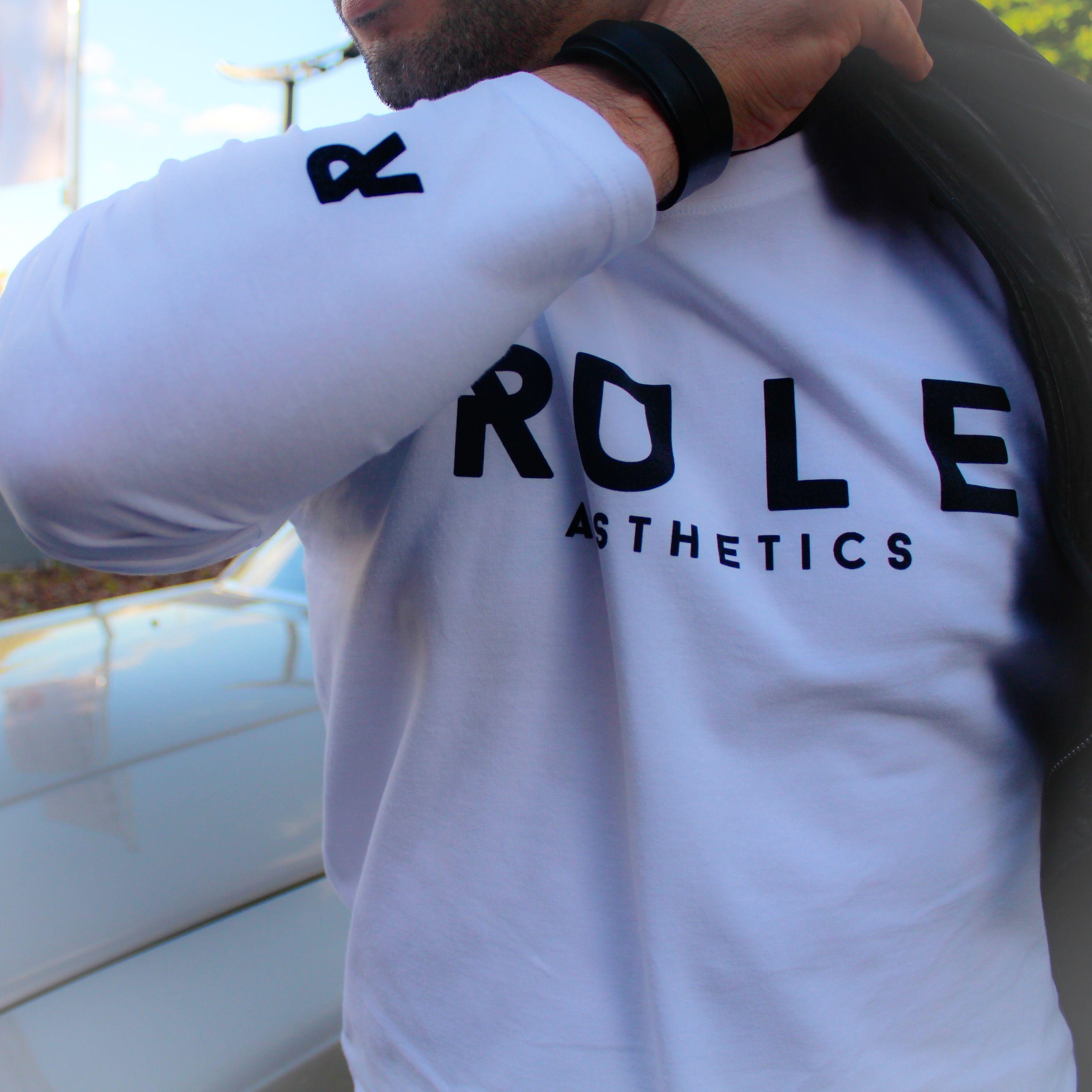 RULE aesthetics White Longsleeve