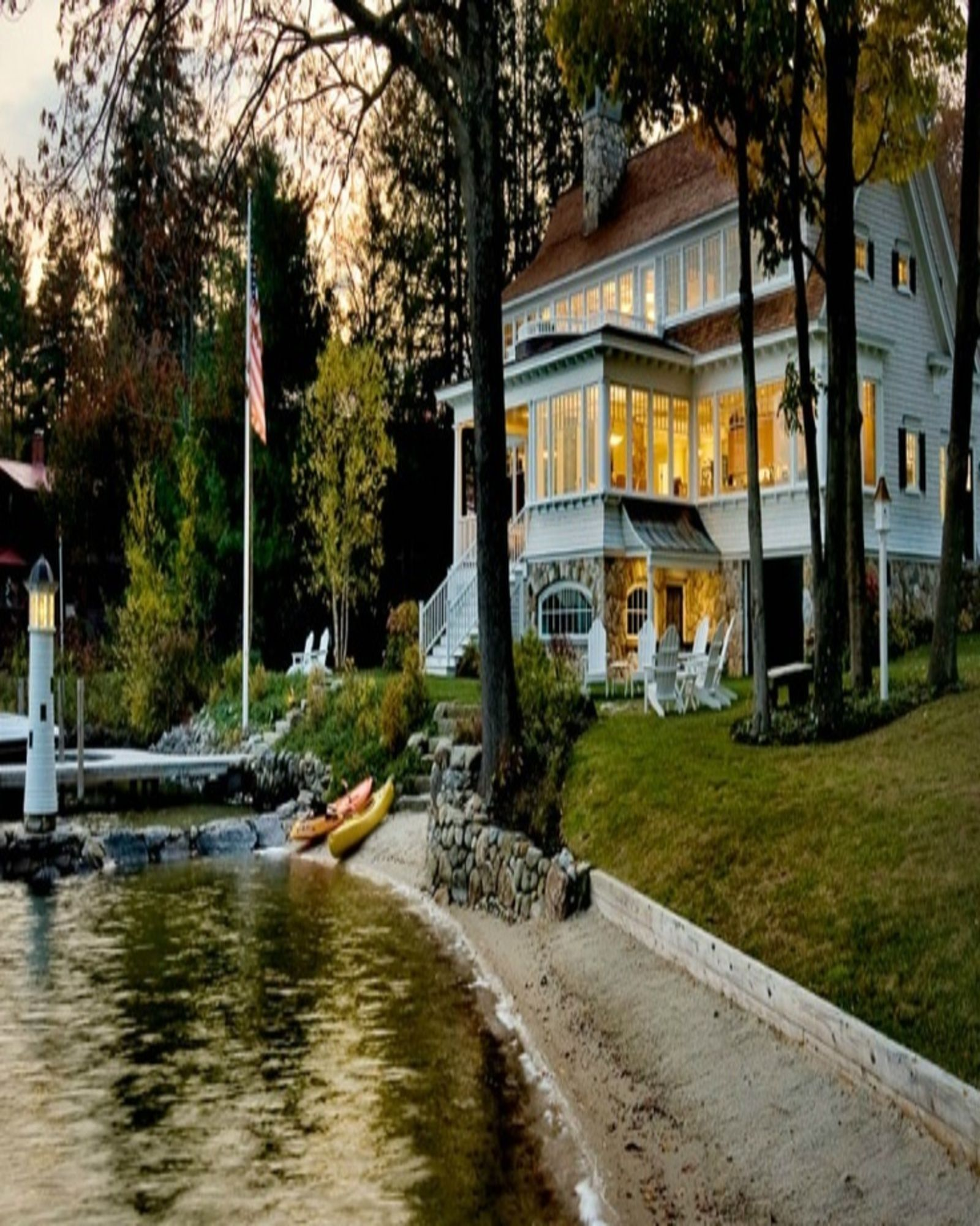 Waterfront Homes: Home, Lakefront Homes, Cottage