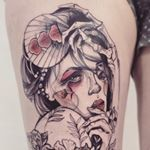 "2,803 Likes, 77 Comments - Pliszka (@pliszkamagdalena) on Instagram: ""#lion #sleeve #tattoo #beautifullaura #love #sketchytattoo #tattoosleeve #birdtattoo…"""