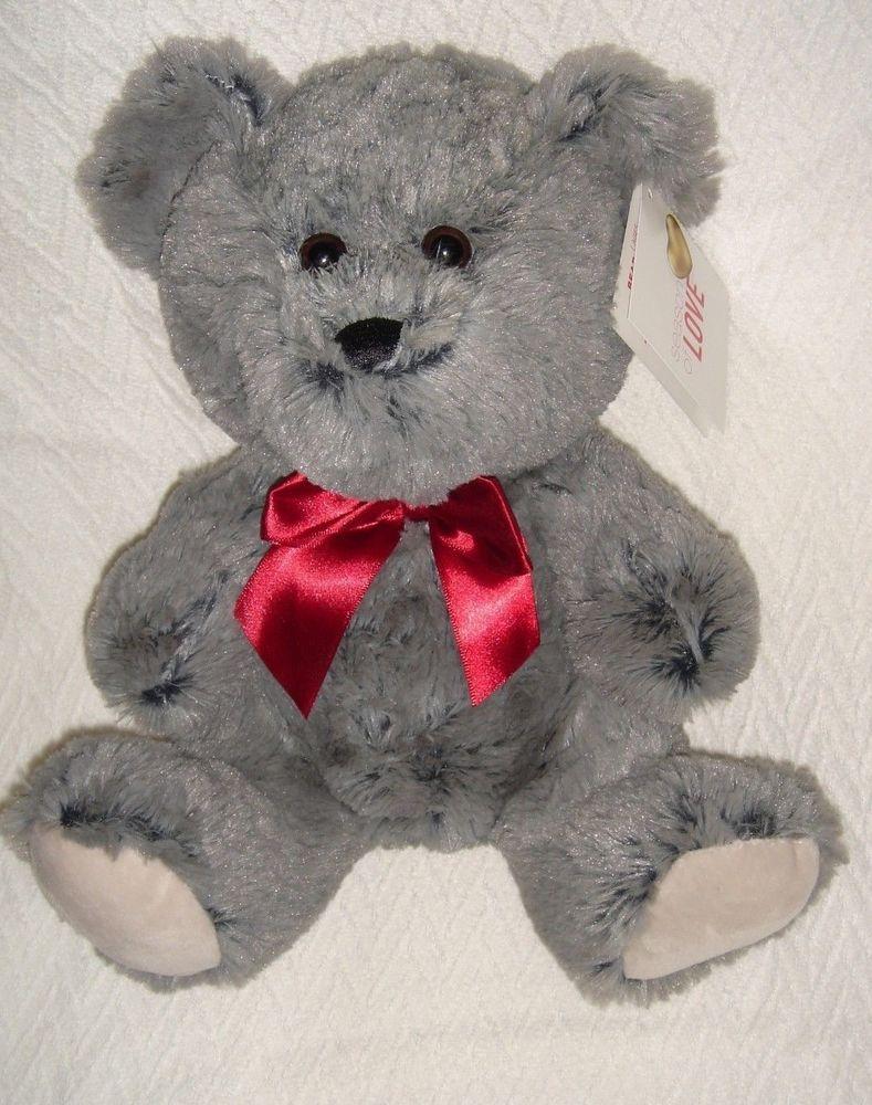 Hugfun Big Teddy Bear Gray Large Stuffed Animal Plush Toy Kids Nwt 10 5 Hugfun Animal Plush Toys Teddy Bear Teddy Bear Plush [ 1000 x 789 Pixel ]