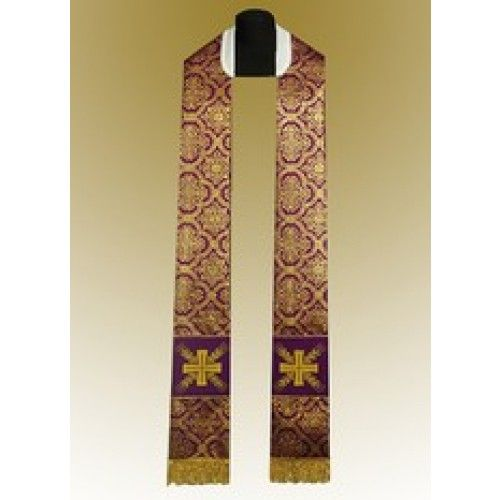 tippet embroidery clergy - Google Search