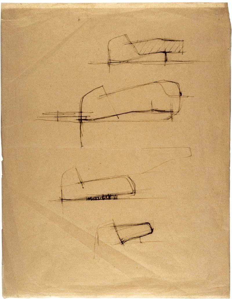 L 39 glise sainte bernadette du banlay de claude parent et for Oggetti per architetti