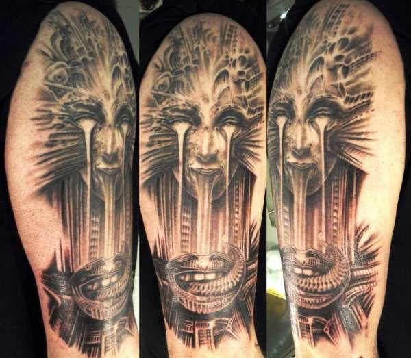 Gieger Tattoos Designs: Inked Magazine, Tattoos