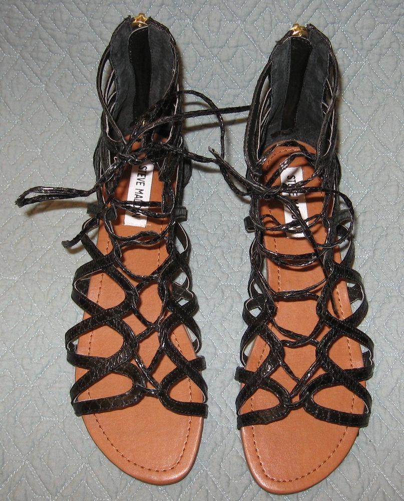 Womens sandals marshalls - Steve Madden Gilly Gladiator Sandals 11 Marshalls