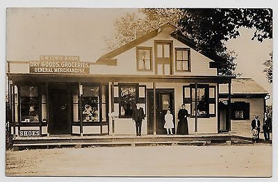 Willoughby Ohio D W Lewis Dry Goods Groceries General Store Real