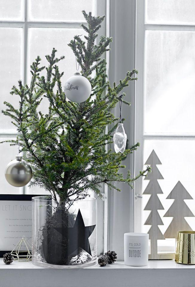 Ideen f r die weihnachtsdekoration weihnachtszeit weihnachten weihnachtsdekoration und diy - Stylische weihnachtsdeko ...