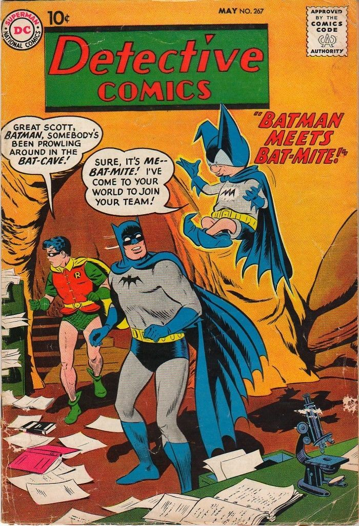 DC Comics DETECTIVE COMICS Vol 1 No 267 Batman Meets Bat Mite SILVER AGE