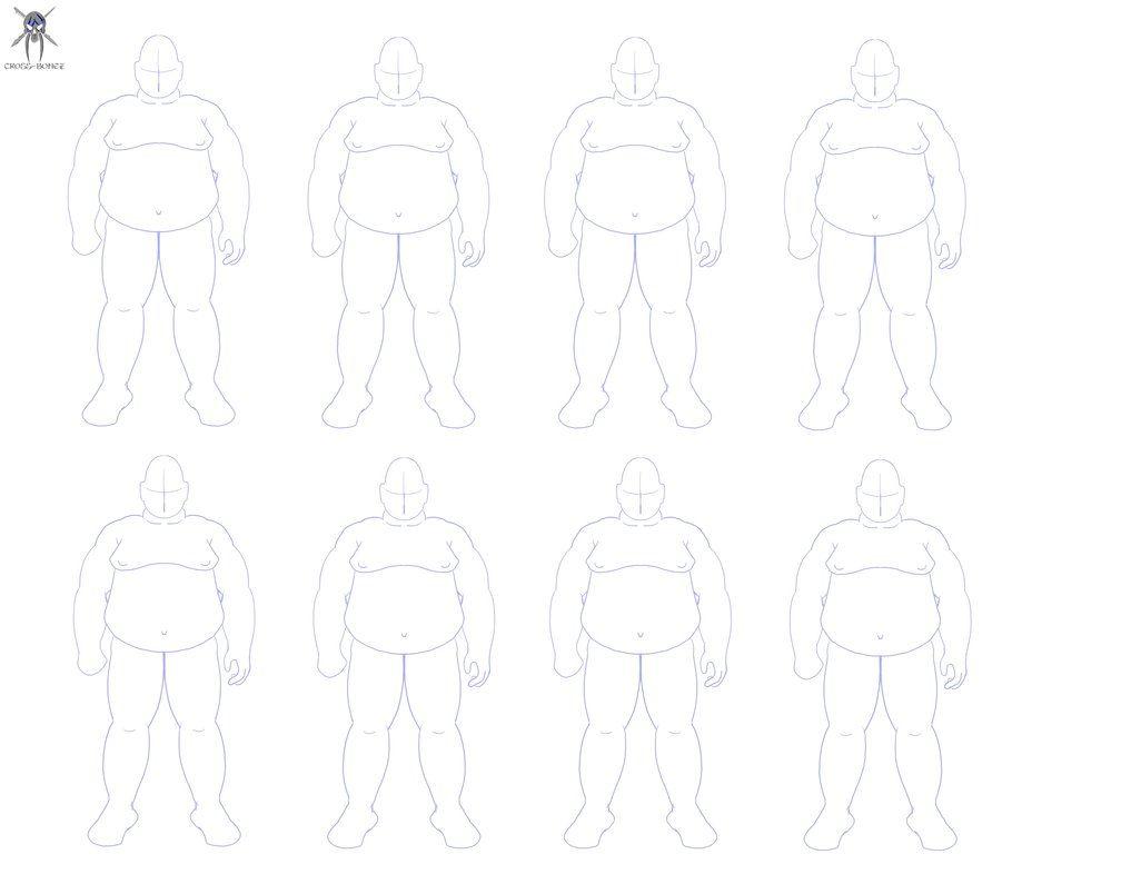 Obese male template   Set & Costume Design   Pinterest   Male body ...