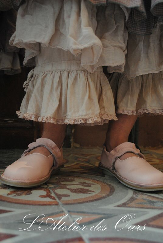 Ruffled bloomers peeping out from under crisp cotton flounced dresses....so fun to wear :-)  #LesOurs