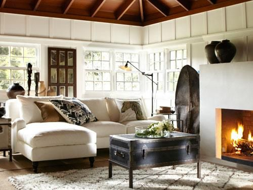 Pin By Andrea Studio On Home Sweet Home Living Room Decor Pottery Barn Pottery Barn Living Room Cozy Interior Design