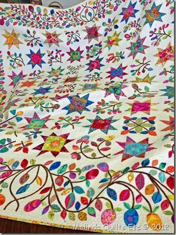 Kim Mclean Quilt Patterns.Stars Sprigs Kim Mclean Pattern Using Kaffe Fabrics I
