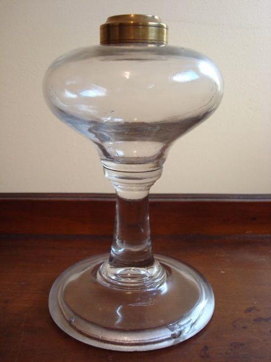 Early Period Kerosene Flint Glass Oil L& 1850s & Early Period Kerosene Flint Glass Oil Lamp 1850s | 1850-1860s ...