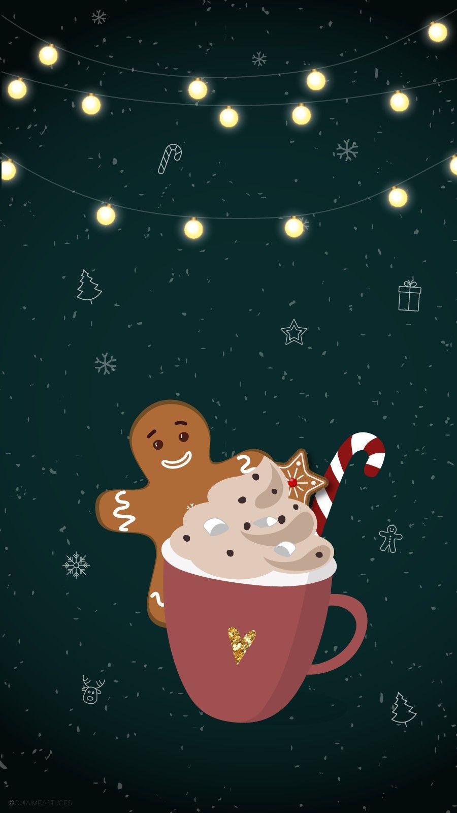Pin By Amanda Hiers On Fonds D Ecran Wallpaper Iphone Christmas Cute Christmas Wallpaper Fall Wallpaper